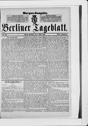 Berliner Tageblatt und Handels-Zeitung vom 05.03.1890