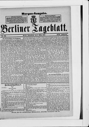 Berliner Tageblatt und Handels-Zeitung vom 08.03.1890