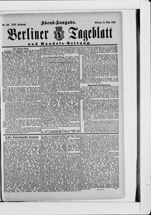 Berliner Tageblatt und Handels-Zeitung vom 10.03.1890