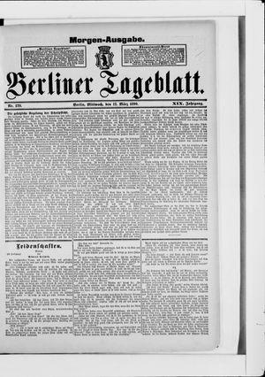 Berliner Tageblatt und Handels-Zeitung vom 12.03.1890