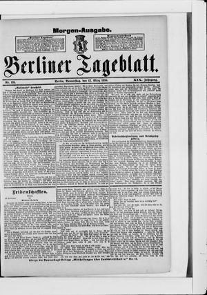 Berliner Tageblatt und Handels-Zeitung vom 13.03.1890