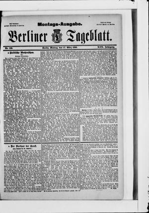 Berliner Tageblatt und Handels-Zeitung vom 17.03.1890