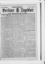 Berliner Tageblatt und Handels-Zeitung (18.03.1890)