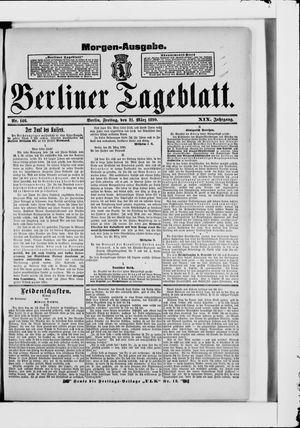 Berliner Tageblatt und Handels-Zeitung vom 21.03.1890