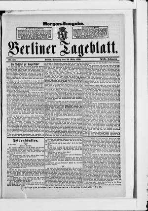 Berliner Tageblatt und Handels-Zeitung vom 23.03.1890