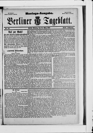 Berliner Tageblatt und Handels-Zeitung vom 24.03.1890