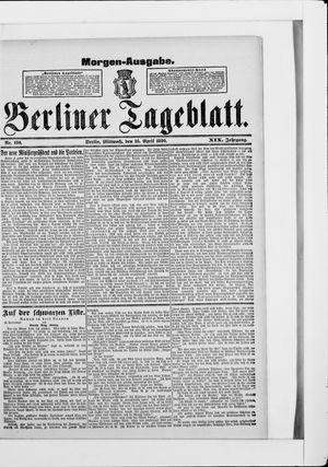 Berliner Tageblatt und Handels-Zeitung vom 16.04.1890