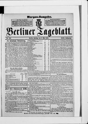 Berliner Tageblatt und Handels-Zeitung vom 02.05.1890