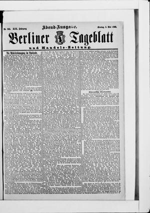 Berliner Tageblatt und Handels-Zeitung vom 05.05.1890