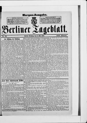 Berliner Tageblatt und Handels-Zeitung vom 06.05.1890