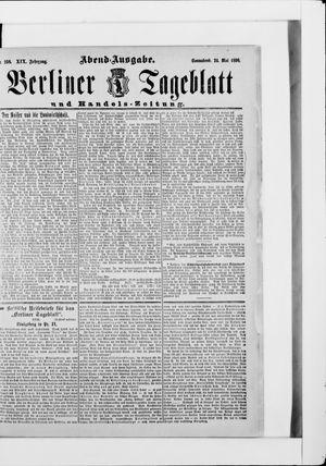 Berliner Tageblatt und Handels-Zeitung vom 24.05.1890