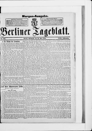 Berliner Tageblatt und Handels-Zeitung vom 28.05.1890