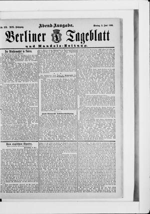 Berliner Tageblatt und Handels-Zeitung vom 02.06.1890