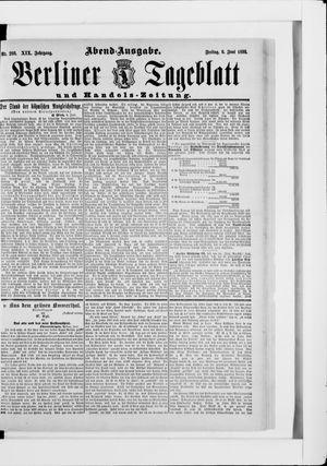 Berliner Tageblatt und Handels-Zeitung vom 06.06.1890