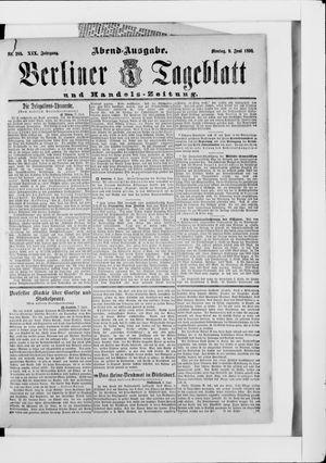 Berliner Tageblatt und Handels-Zeitung vom 09.06.1890