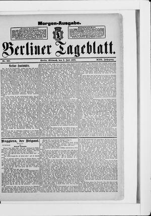 Berliner Tageblatt und Handels-Zeitung vom 02.07.1890