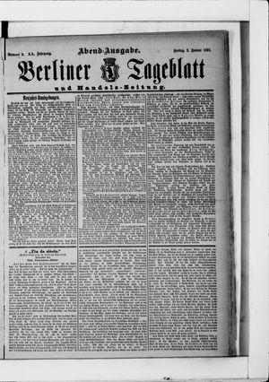 Berliner Tageblatt und Handels-Zeitung vom 02.01.1891