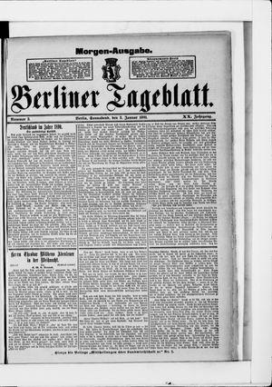 Berliner Tageblatt und Handels-Zeitung vom 03.01.1891