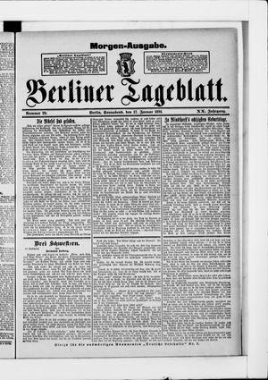 Berliner Tageblatt und Handels-Zeitung vom 17.01.1891