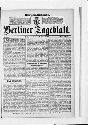 Berliner Tageblatt und Handels-Zeitung vom 21.02.1891