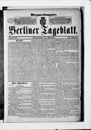 Berliner Tageblatt und Handels-Zeitung vom 01.03.1891