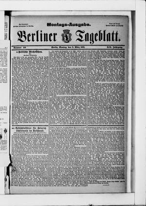 Berliner Tageblatt und Handels-Zeitung vom 02.03.1891