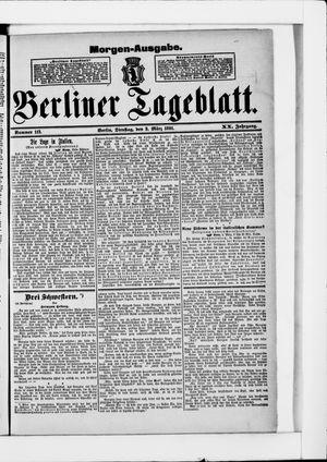Berliner Tageblatt und Handels-Zeitung vom 03.03.1891