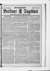 Berliner Tageblatt und Handels-Zeitung (18.03.1891)