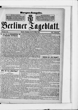 Berliner Tageblatt und Handels-Zeitung vom 24.03.1891