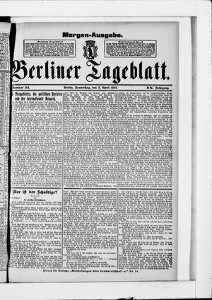 Berliner Tageblatt und Handels-Zeitung vom 02.04.1891