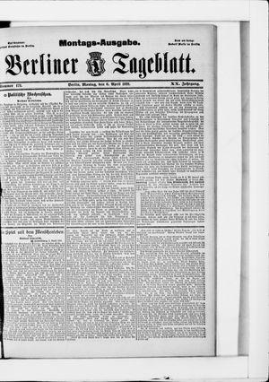Berliner Tageblatt und Handels-Zeitung on Apr 6, 1891