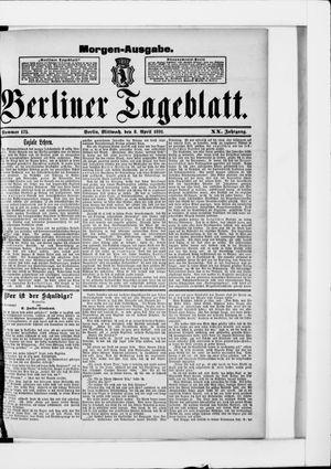 Berliner Tageblatt und Handels-Zeitung vom 08.04.1891