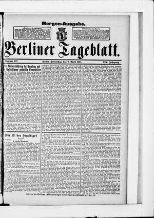 Berliner Tageblatt und Handels-Zeitung vom 09.04.1891