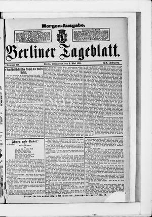 Berliner Tageblatt und Handels-Zeitung vom 02.05.1891