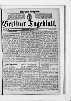 Berliner Tageblatt und Handels-Zeitung vom 03.05.1891
