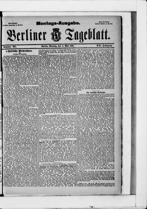 Berliner Tageblatt und Handels-Zeitung vom 04.05.1891