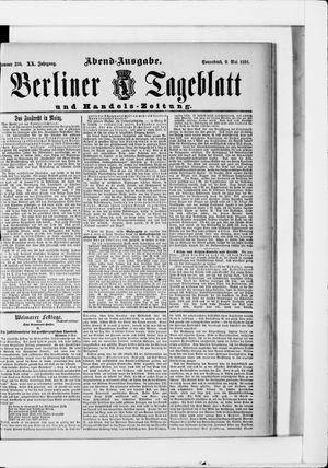 Berliner Tageblatt und Handels-Zeitung vom 09.05.1891