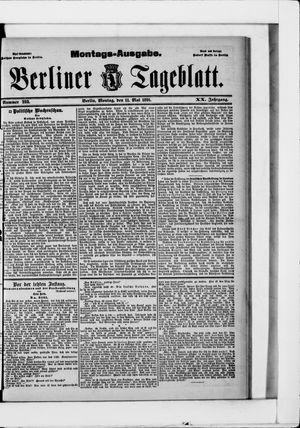 Berliner Tageblatt und Handels-Zeitung vom 11.05.1891