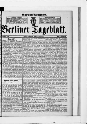 Berliner Tageblatt und Handels-Zeitung vom 12.05.1891