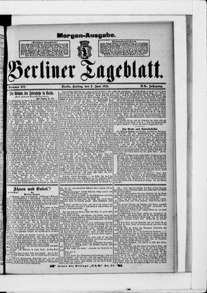 Berliner Tageblatt und Handels-Zeitung vom 05.06.1891