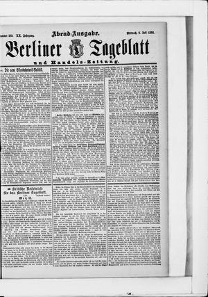 Berliner Tageblatt und Handels-Zeitung vom 08.07.1891