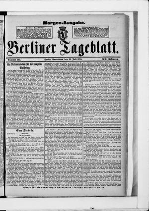 Berliner Tageblatt und Handels-Zeitung vom 18.07.1891