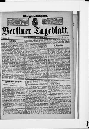 Berliner Tageblatt und Handels-Zeitung vom 13.01.1892
