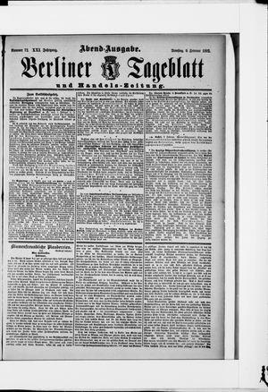 Berliner Tageblatt und Handels-Zeitung vom 09.02.1892