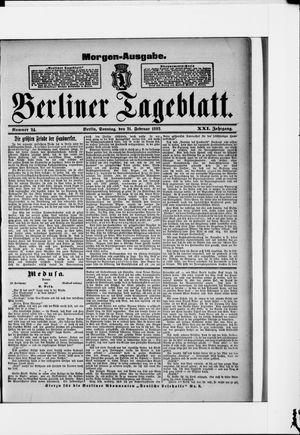 Berliner Tageblatt und Handels-Zeitung vom 21.02.1892