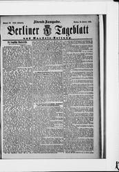 Berliner Tageblatt und Handels-Zeitung (22.02.1892)