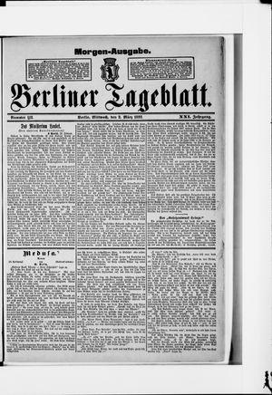 Berliner Tageblatt und Handels-Zeitung vom 02.03.1892