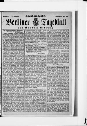 Berliner Tageblatt und Handels-Zeitung vom 03.03.1892