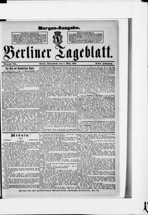 Berliner Tageblatt und Handels-Zeitung vom 05.03.1892
