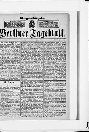 Berliner Tageblatt und Handels-Zeitung on Mar 6, 1892